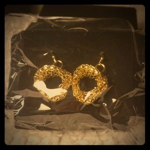 Snake Chain Earrings in Goldtone by AVON